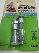 Perfect Parts Universal Adjustable Lawnmower Wheel Bolts - Made in USA