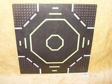 LEGO pièces: 6099p02 plaque, route 32 x 32 9-Stud Landing Pad Green Octogone x1