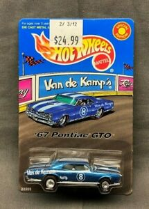Hot Wheels Van De Kamp's '67 Pontiac GTO RARE IN PACKAGE