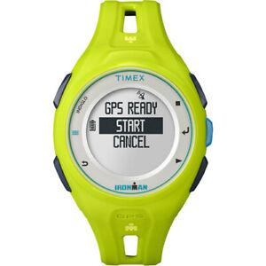 Timex IRONMAN Run x20 GPS Fitness Watch (Green) w/ Accessories