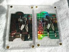 2 CARDS-MI15-1REFRACTOR-91/100 1998 MOSS/RICE Bowman's Best Mirror Image FUSION