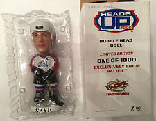 Joe Sakic Bobblehead Pacific Heads Up Colorado Avalanche Bobble Head AGP