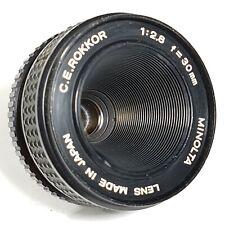 Minolta C E ROKKOR 30mm F2.8 Enlarger lens UK Fast Post