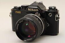 EXC+++ ! Nikon FM2 35mm SLR Film Camera + NIKKOR 1:2 85mm from JAPAN taisei