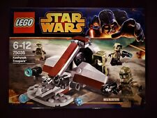 Lego Star Wars 75035 Kashyyyk Troopers Battle Rare Discontinued NEW and Sealed