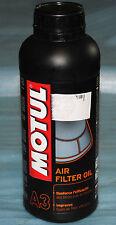 lubrifiant imperméabilisant filtre à air moto MOTUL Air Filtrer oil 1L neuf