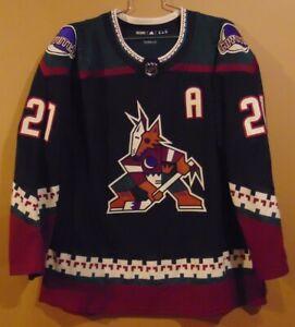 PHOENIX COYOTES DEREK STEPAN BLACK #21 NHL JERSEY