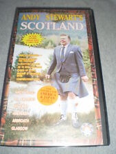 Andy Stewart's Scotland VHS 20 Titles featuring popular songs