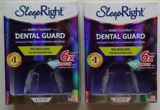 Sleep Right Dental Guard Dura Comfort 6X Prevent Teeth Grinding - 2 PACK