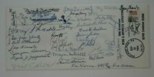 Society Polar Philatelists SEPAD Byrd Arctic ll Expedition 1984 group signed
