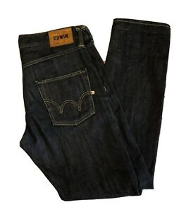 Edwin Ed 55 Relaxed Red Selveged Rinsed Denim Jeans