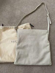 Vintage Loewe Beige  crossbody  bag