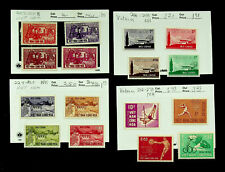 VIETNAM FREEDOM FROM HUNGER SPORTS GAMES 16v FINE MINT STAMPS CV $12