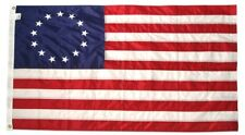 3x5 ft BETSY ROSS Flag NYLON Sewn Embroidered Stars Sewn Stripes Made in USA