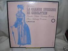 La Grande Duchesse De Gerolstein Offenbach, Urania, UR 115-2, Box Set
