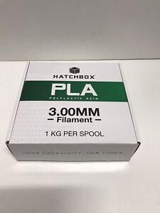 HATCHBOX PLA 3D Printer Filament 1 kg Spool, 3.00 mm, Green