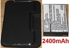 Coque + Batterie 2400mAh Pour DELL  Mini 5, Streak, 20QFO 312-0225 XMH3