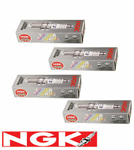 NGK Iridium Spark Plugs ITR6F13 x 4