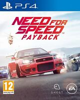 NEW & SEALED! Need For Speed PayBack Sony Playstation 4 PS4 Game