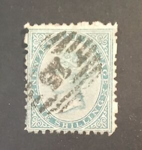 New Zealand. 1974 SG157 1s Green. Used