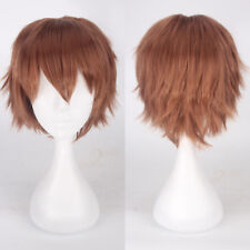 Fashion Women Long Hair Full Wig Natural Curly Wavy Straight Synthetic Cosplay