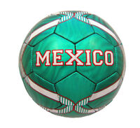 World Cup Mexico Brazil Metallic Custom Official Size 5 Soccer Ball