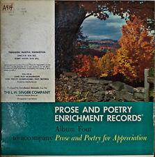 PROSE AND POETRY ENRICHMENT RECORDS ALBUM 4-NM1963? 2LP HEAVY GATEFOLD