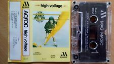 AC/DC – High Voltage  POLAND  TAPE 1991 MAG MAGIC 0436 ...FREE SHIPPING