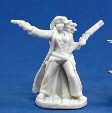 80003 - Ellen Stone, Cowgirl - Reaper Chronoscope Bones Minis