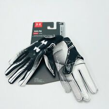 Under Armour Boys' F6 Youth Football Gloves S / M / Black White