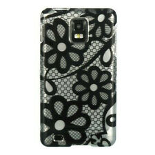 Black Lace Hard Case Phone Cover for Samsung Infuse 4G