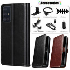 For Samsung Galaxy A51 A71 Case Leather Wallet Flip Stand Phone Cover /Accessory
