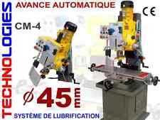 PERCEUSE FRAISEUSE a colonne CM4 persage max. 45 mm model ZX7045B / 230V ou 400V