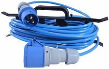 15m Caravan C&ing Hook Up Cable 16A Site Extension Lead Electric + Cable Reel  sc 1 st  eBay : tent hook up - memphite.com