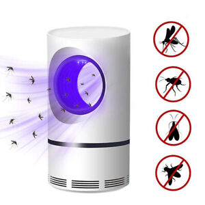 Mosquito Killer Lamp Insect Catcher USB Electric LED Light Fly Bug Zapper Trap
