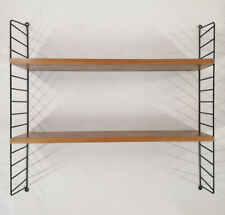 STRING REGAL TEAK / SCHWARZ MID CENTURY DESIGN THE LEDDER SHELF DESIGNKLASSIKER