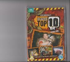 DEADLY TOP 10 COMPLETE SERIES 1 DVD KIDS STEVE BACKSHALL