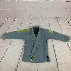 Hypnotik jiu jitsu gi jacket Light Blue Green Youth size M0