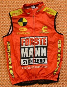 Forste - Mann Cannondale, Cycling Vest Shirt, Size Medium - Large