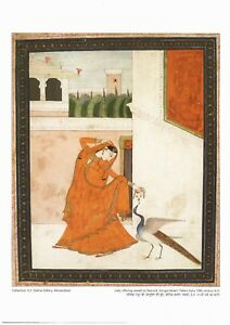 Two prints of Miniature paintings from India