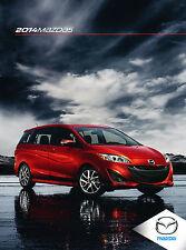 2014 Mazda5 5 Mazda 32-page Original Sales Brochure Catalog