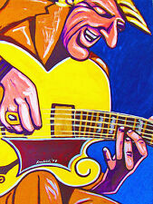 TAL FARLOW PRINT poster jazz guitar genius complete verve sessions cd gibson es