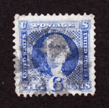 US 115 6c Washington Used VF SCV $225