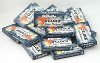 100 X Gillette 7 O' Clock Super Platinum Double Edge Razor Blades|Free Shipping!