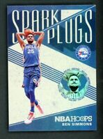 2019-20 Ben Simmons Panini Hoops #12 Spark Plugs