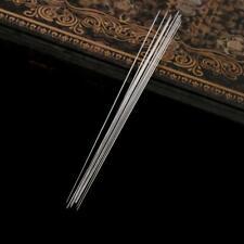 10 Pcs Big Eye Curved Beading Threading Needle DIY Bracelet Jewelry String11.5cm