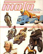 MOTOCYCLISME 52 DUCATI 250 DESMO YAMAHA 50 MINI HONDA CR 125 ELSINORE 1973