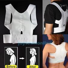 Magnetic Therapy Posture Corrector Back Shoulder Support Brace Belt Adjustable
