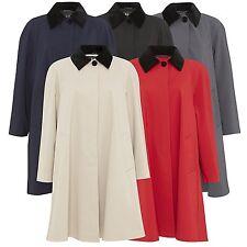 De La Crème - Women's Spring/Summer Plus Size Lightweight Jacket Ladies Overcoat