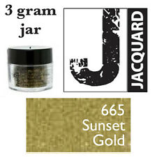 Pearl Ex Mica Powdered Pigments - 3g bottles - SUNSET GOLD 665